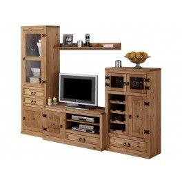 Mejores 37 im genes de furniture made of natural wood en for Muebles rusticos lara