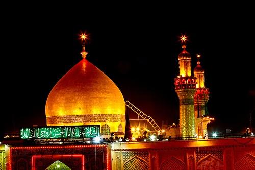 Shrine of Imam Ali peace be upon him .. Iraq - Najaf by Rasoul Ali ...