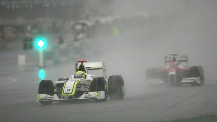 The Malaysian Grand Prix - 2009. Jensen Button