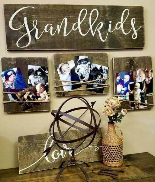 Grandkids sign