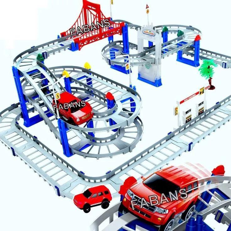 pista magica 100 en 1 grande carro carritos juguetes niño