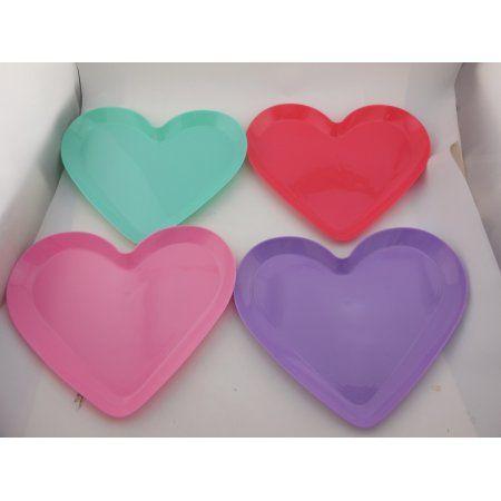 Valentine Gal Purple Plate