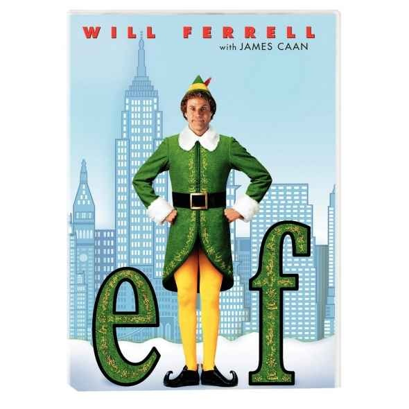 Elf - Get Your Copy Of Elf On DVD Today - Starring Will Farrell As Buddy The Elf -