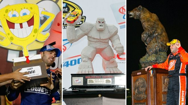 The Intimidator, The Man in Black, Ironhead, The King.  Just a few famous nicknames of NASCAR's great drivers.