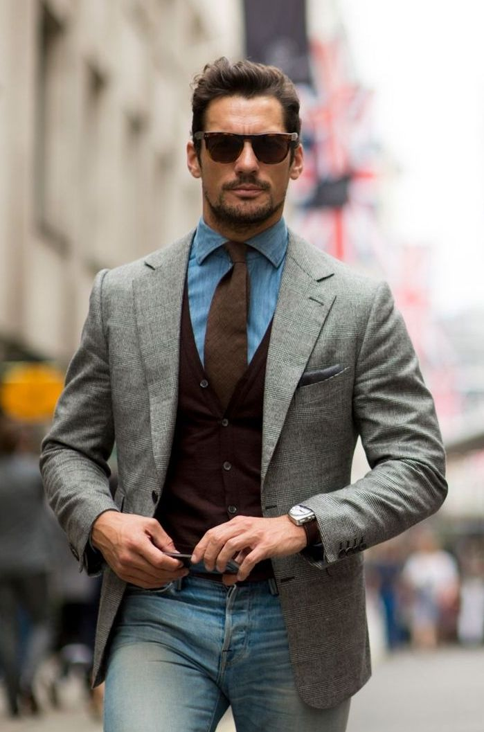 David Gandy Source: gq-magazine.co.uk - Streetstyle LCM ...