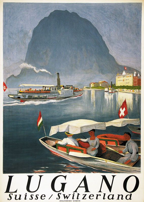 Lugano Otto Baumberger