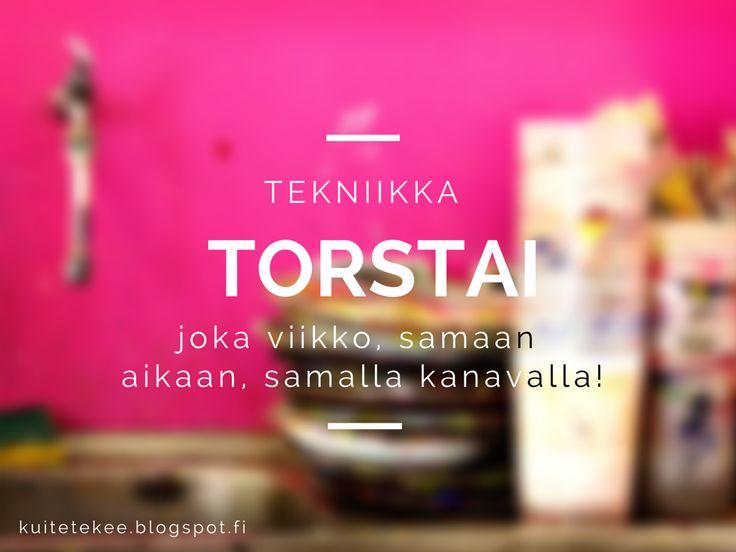 Tekniikka Torstai starttaa!