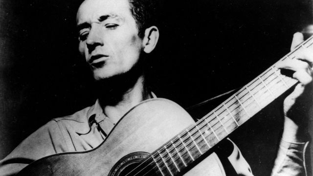 NOT YOUR LAND Woody Guthrie really did not like Donald Trump's racist dad