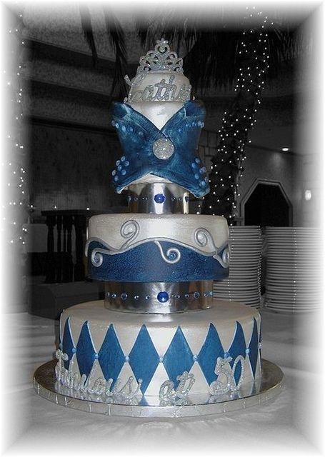 Denim And Diamonds Party cakepins.com