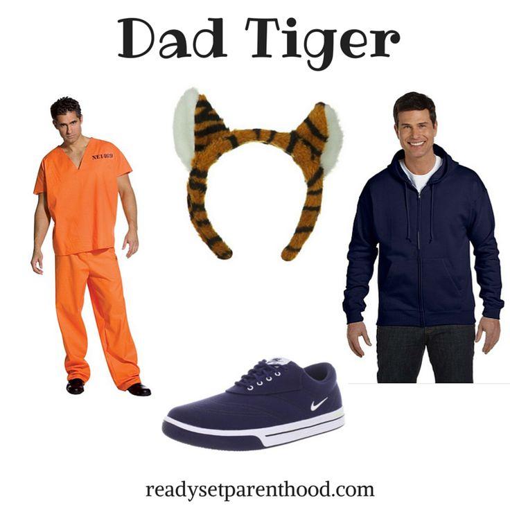 Easy DIY Daniel Tiger Halloween Costume #Halloween