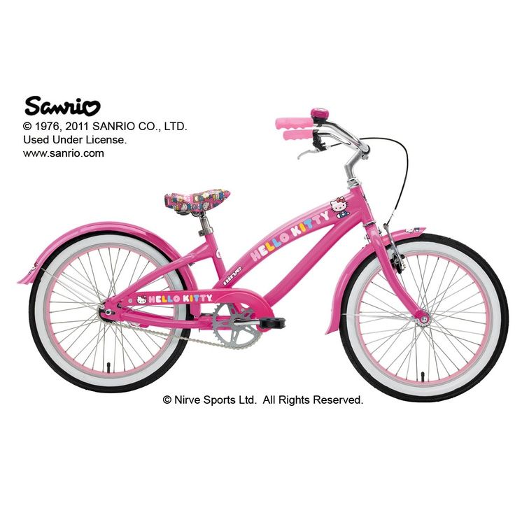 Hello Kitty Retro Girls - 20 inch Nirve Bike