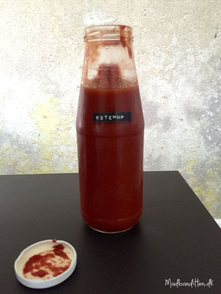 Hjemmelavet ketchup uden sukker --> madbanditten.dk