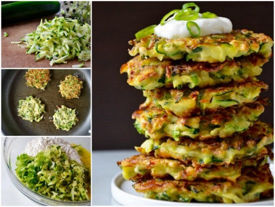 5 Ingredient Zucchini Fritters