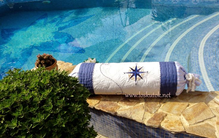 -БЕЛОШВЕЙКА-:    СТЕЖКА на LONG-ARM:  Морские подушки готовы!