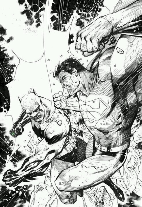 BATMAN vs. SUPERMAN •Jim Lee