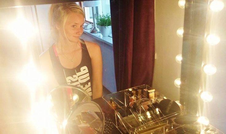 #Sminkhörna #vanity #makeupcorner