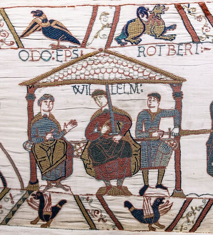 Bayeux Tapestry Scene44 William Odo Robert Middle Ages Wikipedia Tapisserie De Bayeux Tapisserie Guillaume Le Conquérant