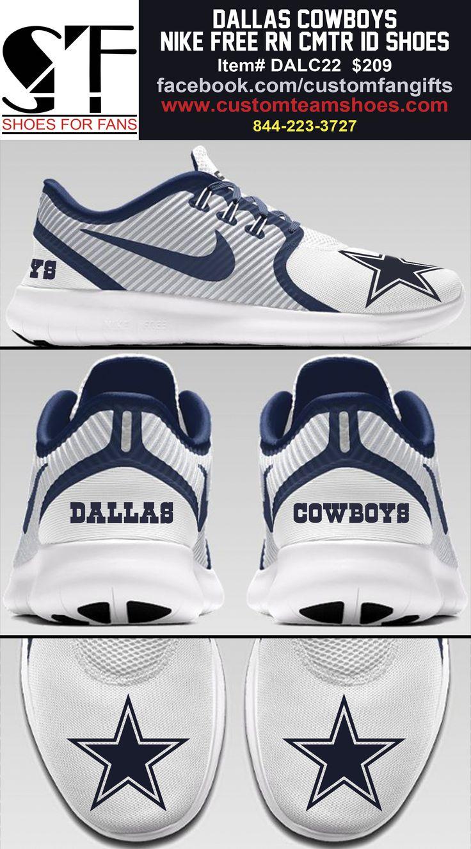 low priced c0815 e12ab ... air max 95 for sale Dallas Cowboys Nike Free CMTR iD custom shoe ...