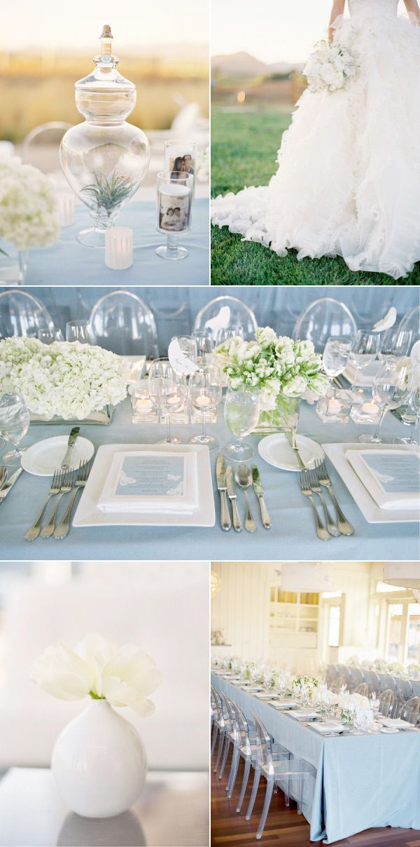 pretty, classic + clean wedding details