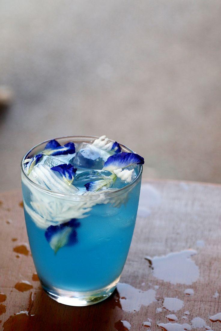 Butterfly Pea Coconut Juice