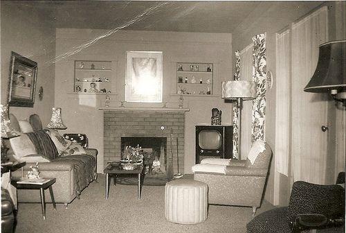 s living rooms Retro Interiors Pinterest