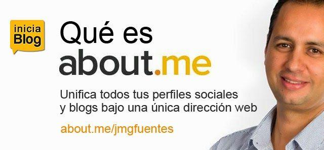 Qué es about.me y cómo se integra con tu blog