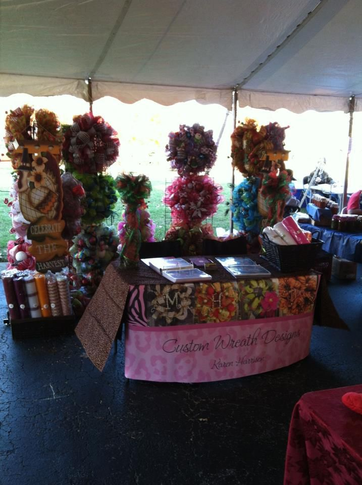 17 best images about vendor booth display ideas on for Decoration vendors