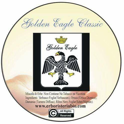 Golden Eagle Classic http://www.erboristeriabio.com/it/golden-eagle-classic-2322.html