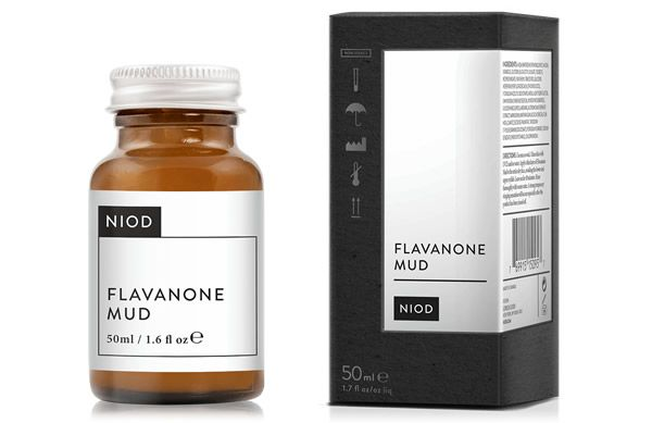 Remove pollution particles, make-up, excess sebum and debris from congested skin with the new NIOD Flavanone Mud, available from Effortless Skin.