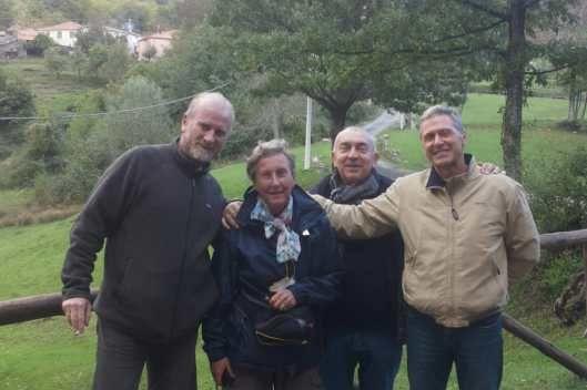 Il nucleo ambientale della Polizia Provinciale ritrova una pellegrina francese dispersa in Appennino