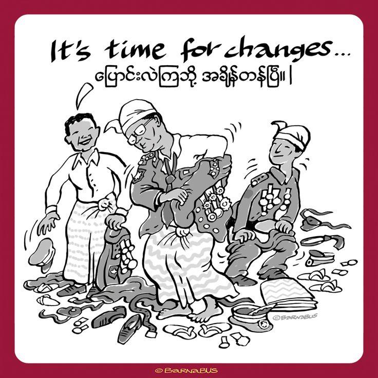 © Barnabus - Wolna #Birma ▪ Free #Burma - Przyszedł czas na zmiany.