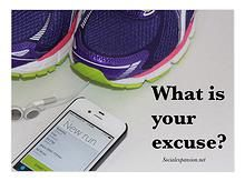 It's time to confront your excuses #exercise #welllness #workplace