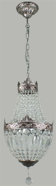 Le Bastille 3 Light Crystal Chandelier (Le Bastille/3Lt) Lighting Inspirations – Bright Lighting