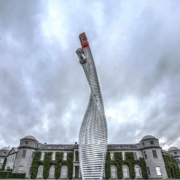 Mazda's Installation at 2015 Goodwood Festival Of Speed by Gerry Judah