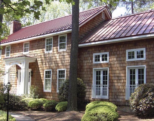 74 best metal roofs images on pinterest metal roof for Color roof design