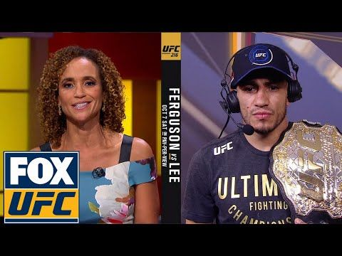 Tony Ferguson pays respect to Kevin Lee and talks fighting Conor McGregor | Interview | UFC 216