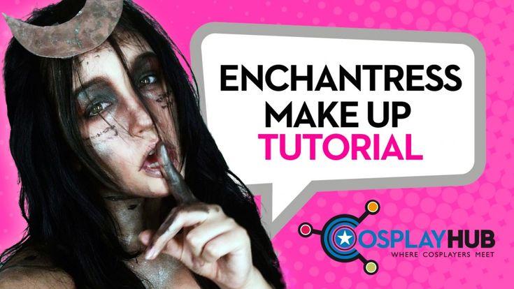 #SuicideSquad #Enchantress #makeup #tutorial, by Sara Rouge Cosplay