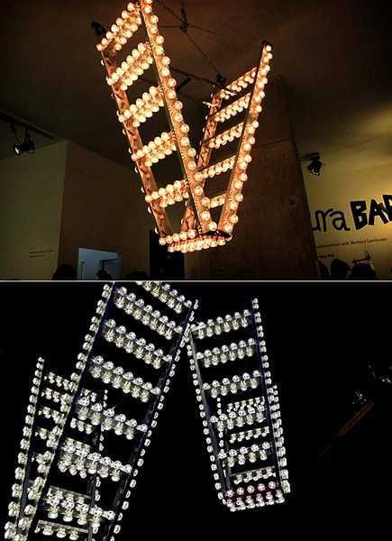 step ladder lighting fixtures