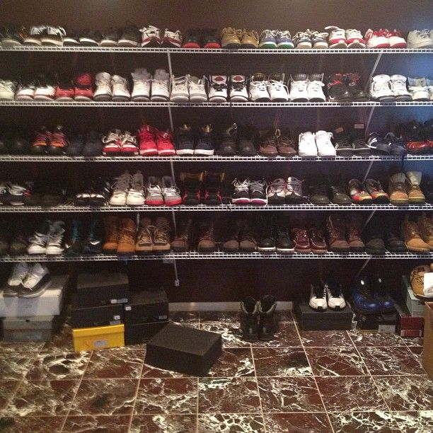 Sneaker Game Part Of Camrons Shoe Closet