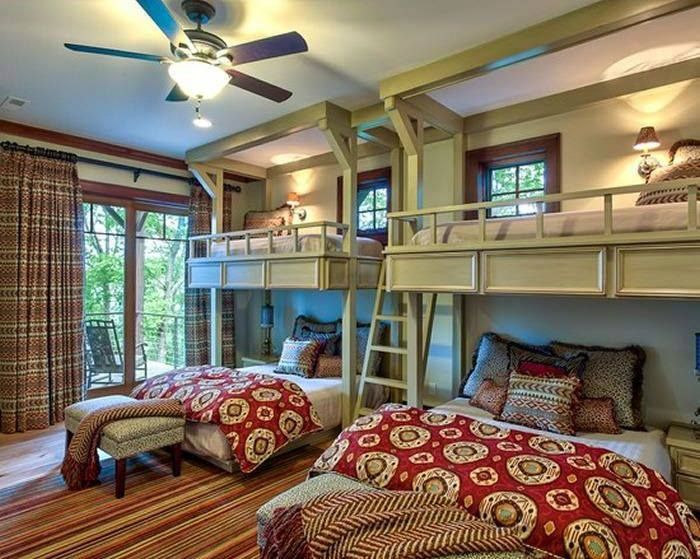 Most Amazing Bedrooms 48 Pic On Bunk beds