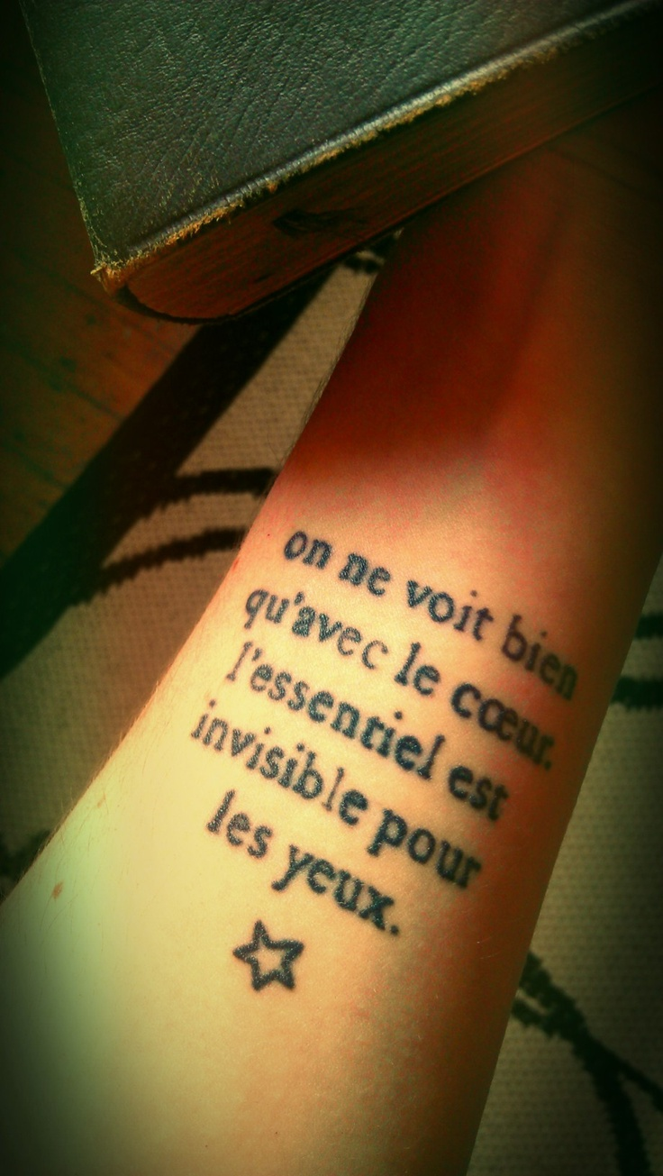 The Little Prince Uploaded By Vytaa On We Heart It: Tattoo: Le Petit Price
