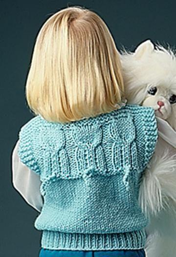 cd513cd46 Free Pattern Friday  Quick Knit Animal Vests