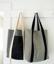 sac tout simple et costaud, idée cadeau ?   The Purl Bee
