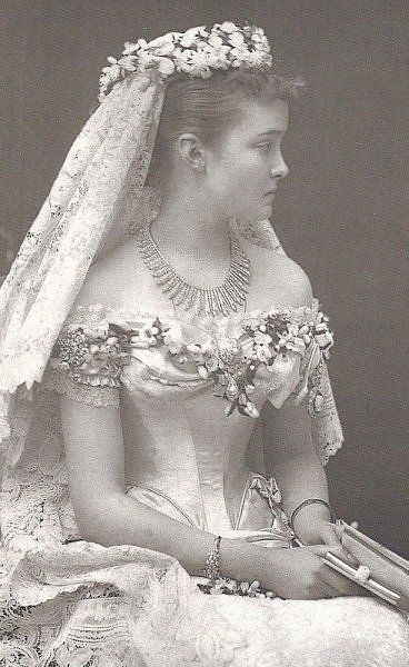 Princess Louise of Prussia who married Prince Arthur, Duke of Connaught and Strathearn (Arthur William Patrick Albert), in 1878