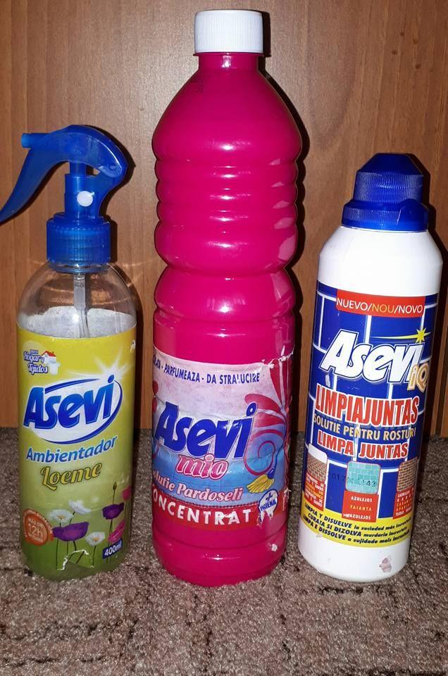 Produsele de curatenie de la Asevi sunt cele mai bune