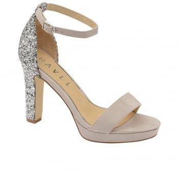 Buy Ravel ladies Selma heeled sandals online in dove grey
