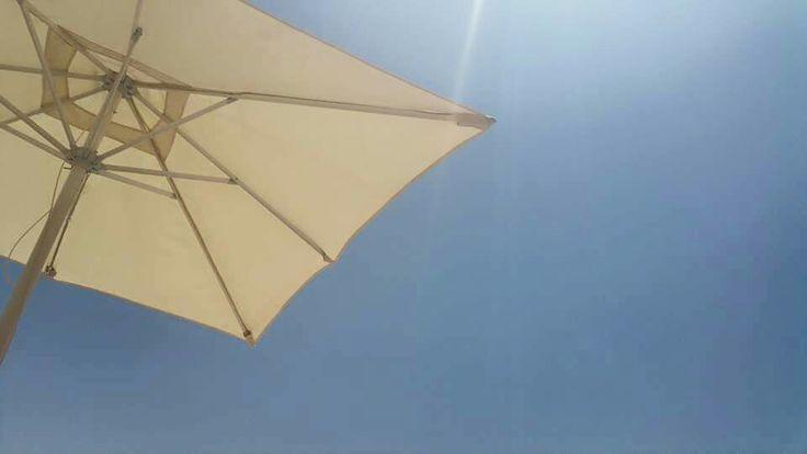 View whilst sunbathing