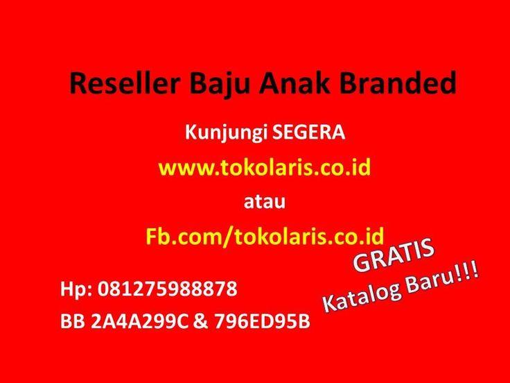 081275988878 | Reseller Baju Anak Branded Murah di Surabaya