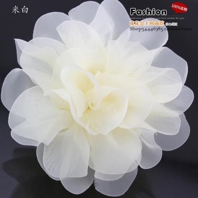 Haar accessoire dans y de bruid transparante grote met de hand gemaakte bloem accessoires kant geknoopt clip