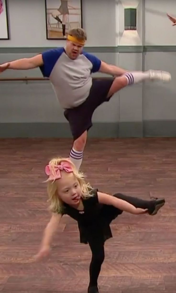 Jenna Dewan Tatum and James Corden Take a Rigorous Dance Lesson From Toddlers, Hilarity Ensues